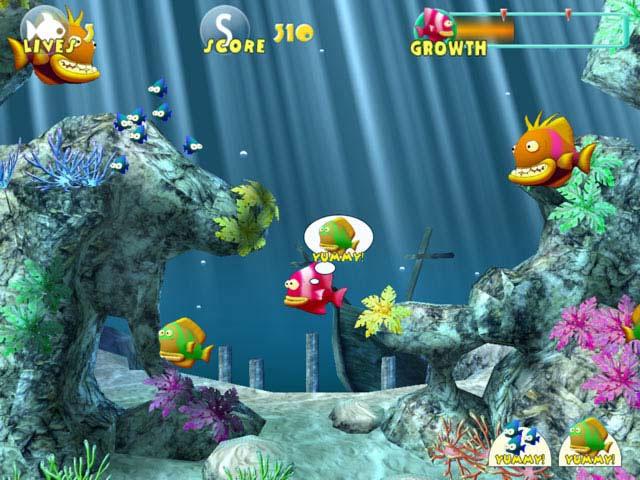 скачать игру рыбка обжора полная версия