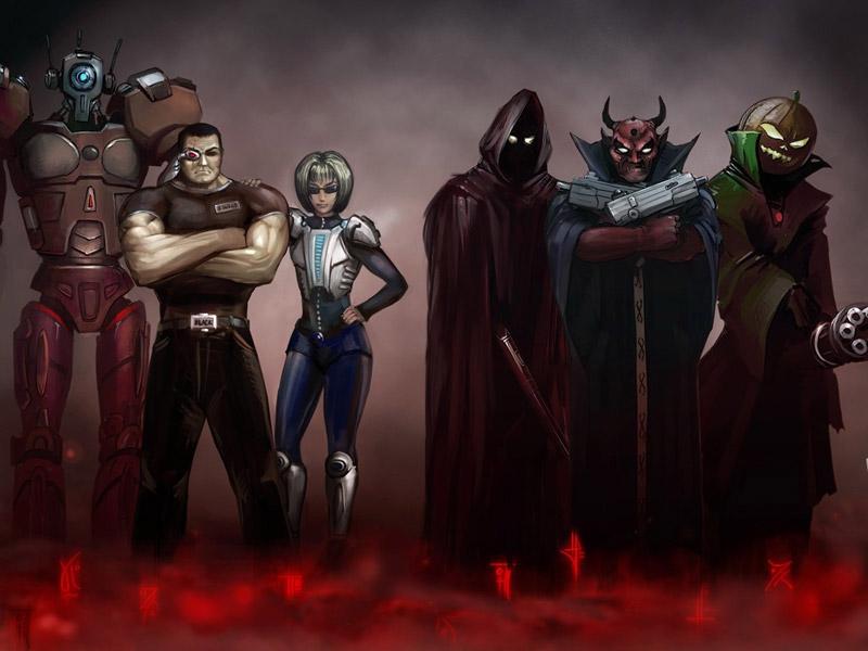 Игра Битва людей с пришельцами онлайн Humaliens Battle