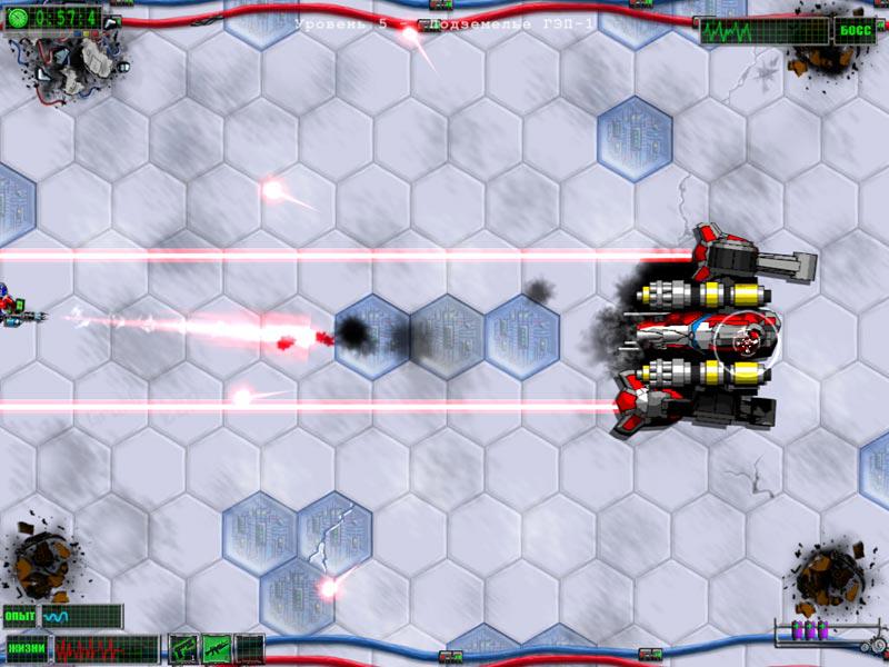 Игра Герои ударного отряда 1 онлайн Strike Force Heroes 1