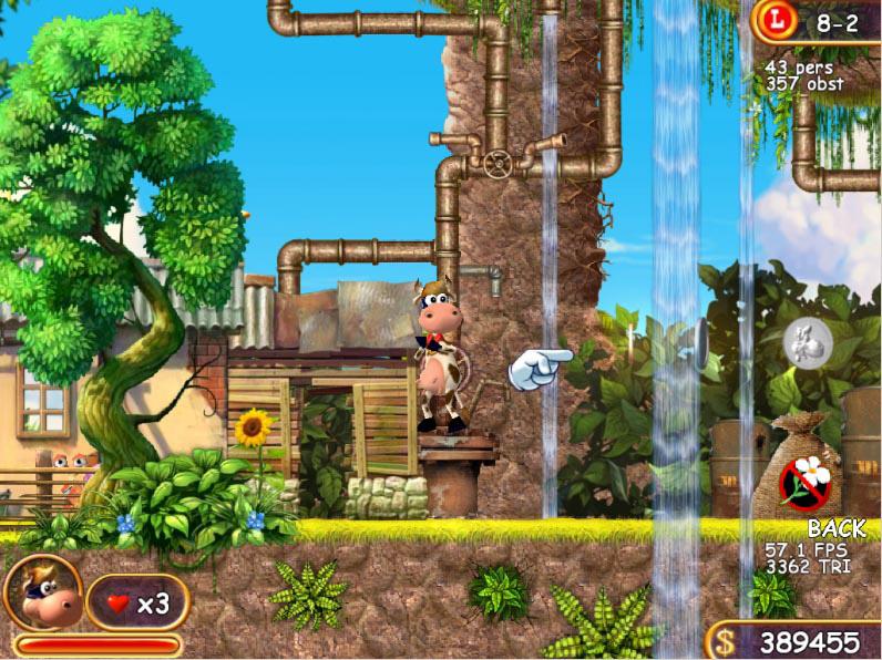 Скриншот 4 для игры супер корова