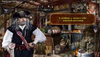 Скриншот №1 для игры Легенды Пиратов. Загадка Шкатулки