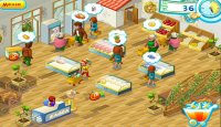 Скриншот №2 для игры Супер- Маркет-Мания