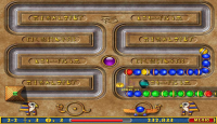 Скриншот №1 для игры Луксор