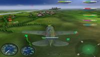 Скриншот №1 для игры Герои неба: Вторая Мировая