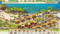 Скриншот №2 для игры Пляжный Рай