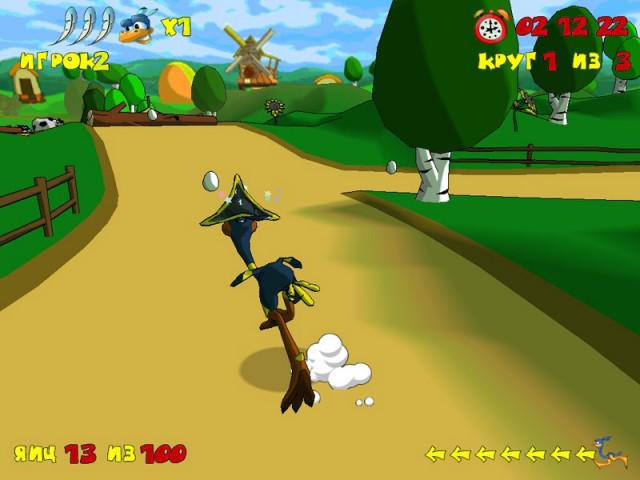 Игра Диего и страусиные бега - Multoigri ru