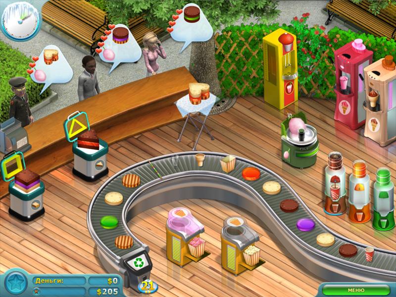 Скриншот к мини игре Кекс шоп 2, бесплатные скриншоты к играм для