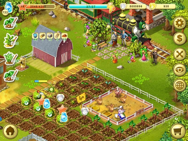 Взломанные игры фермы на андроид андроид