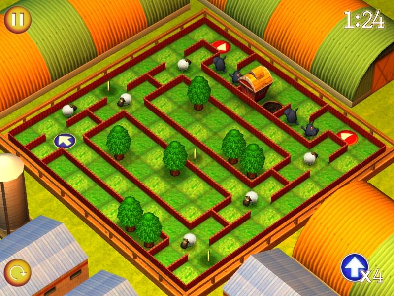 скачать игру спаси овечек