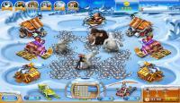 Скриншот №1 для игры Веселая ферма. Ледниковый период