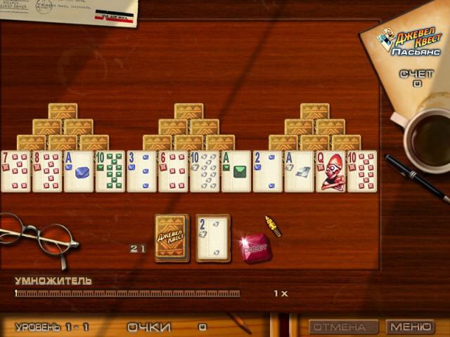 Игра джевел квест карты играть карты сто одно играть