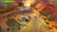 Скриншот №1 для игры Космический Удар