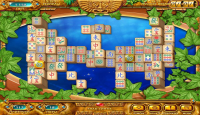 Скриншот №3 для игры Маджонг. Золото Майя