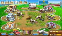 Скриншот №1 для игры Веселая ферма. Печем пиццу