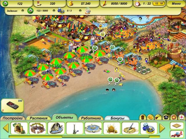 Скачать мини игру пляжный рай скачать игру пляжный рай 2 и.