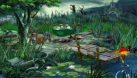 Скриншот №1 для игры Буратилло идет по следу